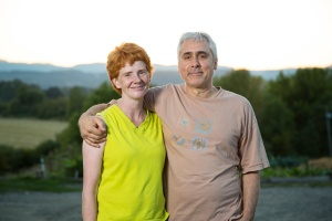 Chrissie and Koorosh Zaerpoor of Kookoolan Farms in Yamhill