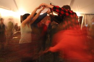 Square Dance blur