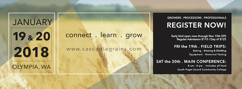 Cascadia Grains Conference 2018