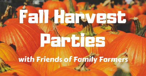 We're hosting Fall Parties in Bend and Salem: Join us in celebrating family farms!