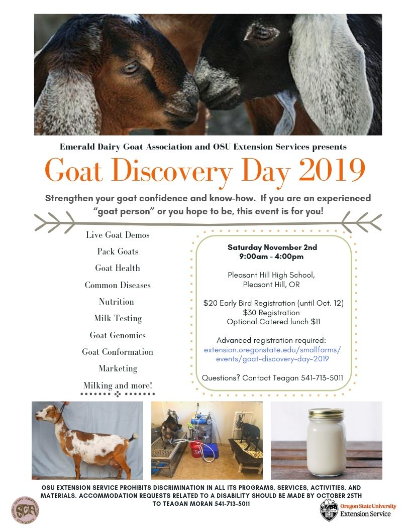Goat Discovery Day